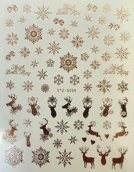 "Nailart Sticker ""Snowflake"""