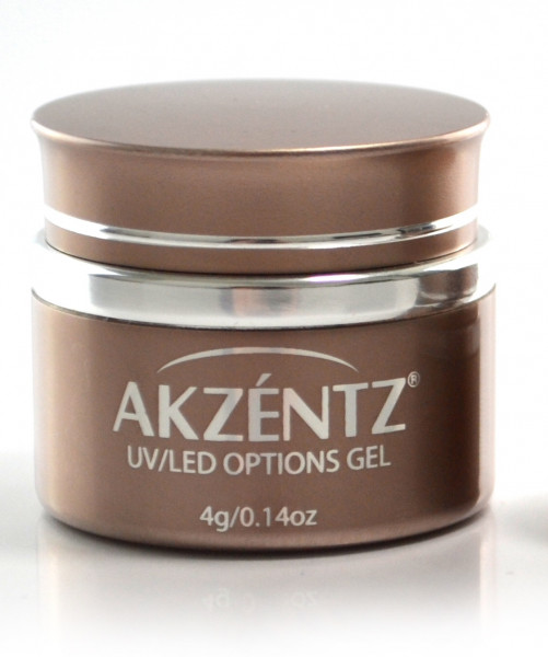 Akzentz Options Crystal Clear 4g / 45g UV / LED
