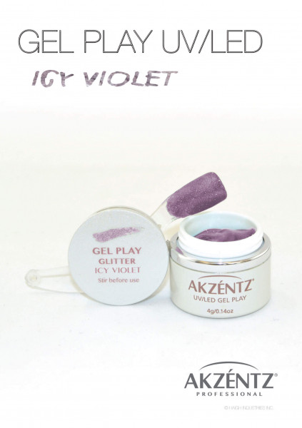Play Icy Violet Glitter