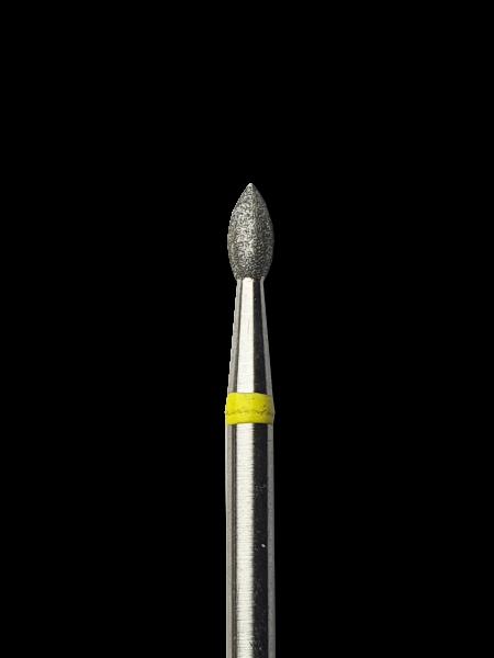 Olive -spitz- L Gelb D4