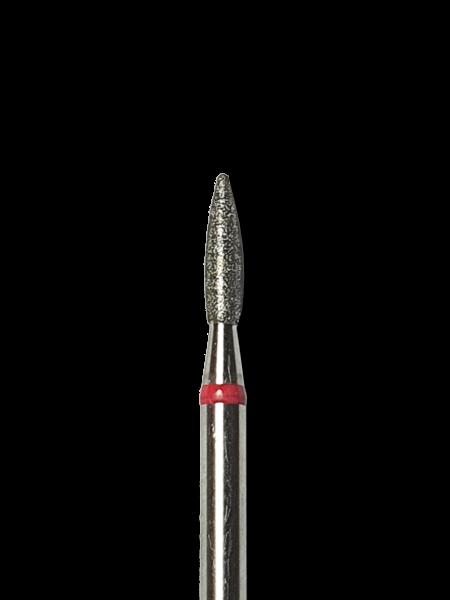 Flamme -stumpf- M Rot D1