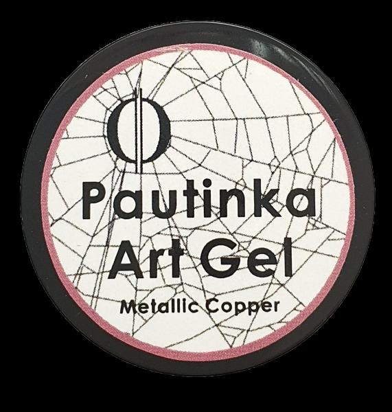 Pautinka Art Gel - metallic copper
