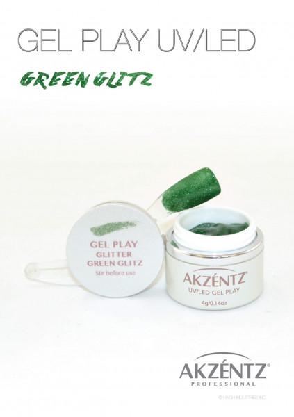 Play Green Glitz Glitter 4g