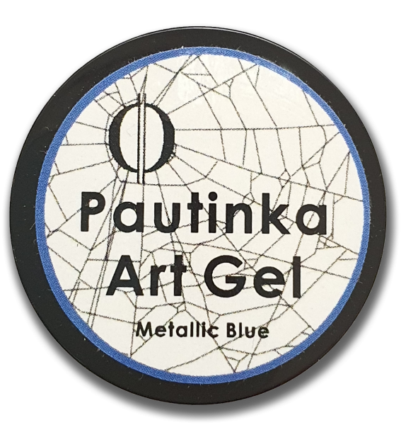 Pautinka Art Gel - metallic blue