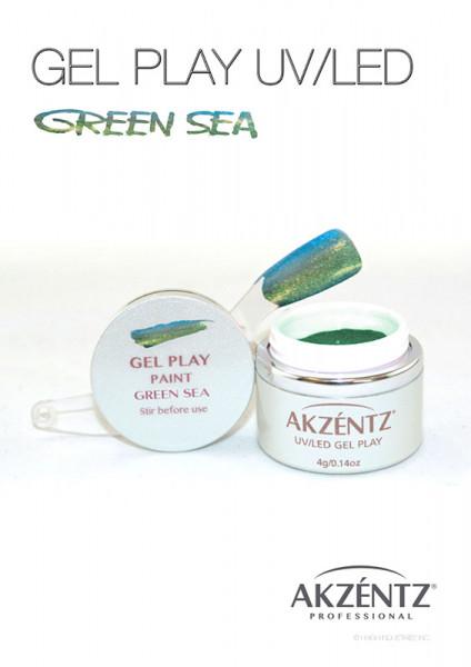 Green Sea Glitter Shifter