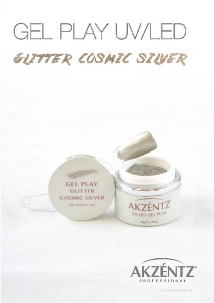 Play Cosmic Silver Glitter 4g