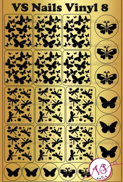 Deep Design Folie Schmetterling 8#