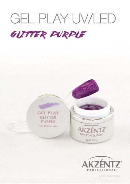 Play Purple Glitter 4g