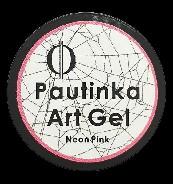 Pautinka Art Gel - neon pink