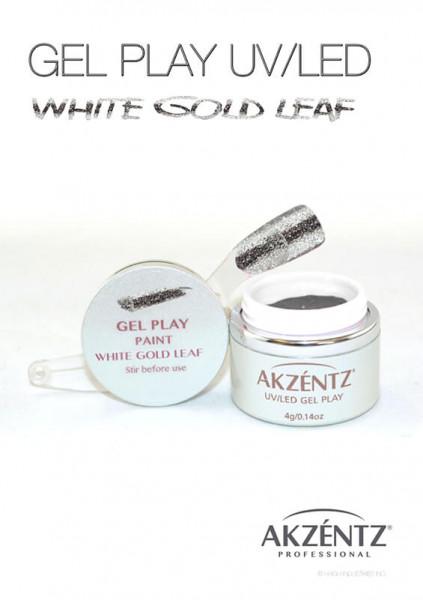 White Gold Leaf Glitz