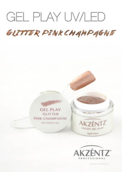 Pink Champagne Glitter