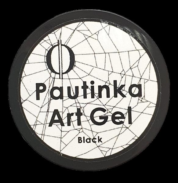 Pautinka Art Gel - black