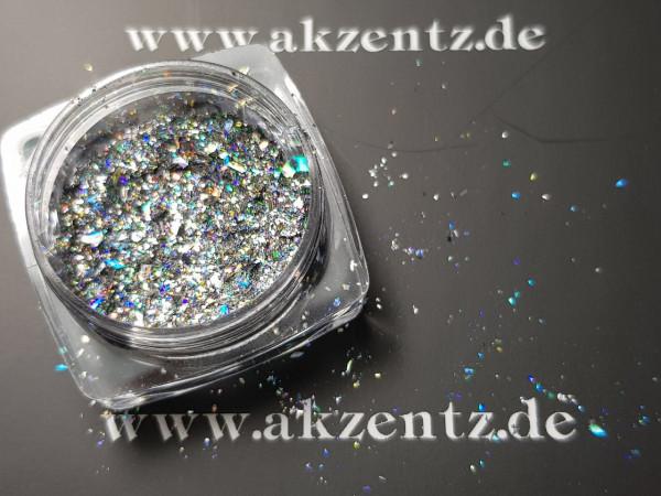 Glitter Holo Silver