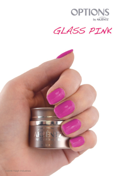 Options Glass Pink