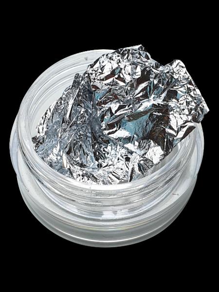 Folien Nailart Silber