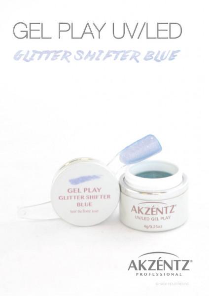 Blue Glitter Shifter