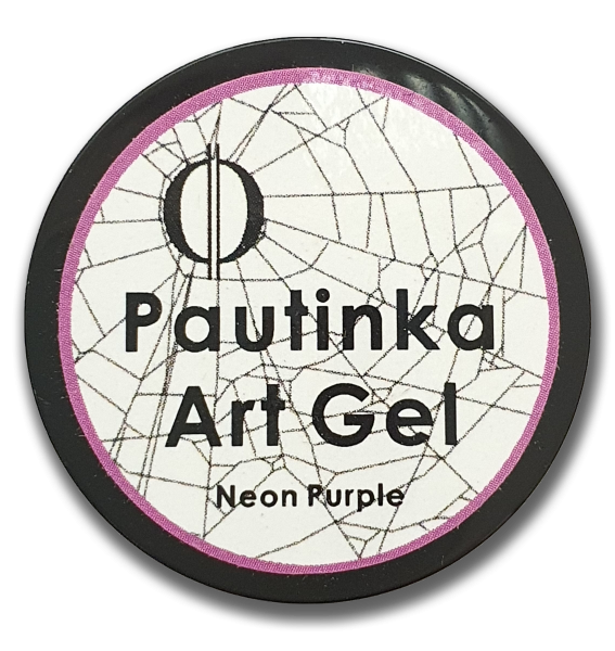 Pautinka Art Gel - neon purple