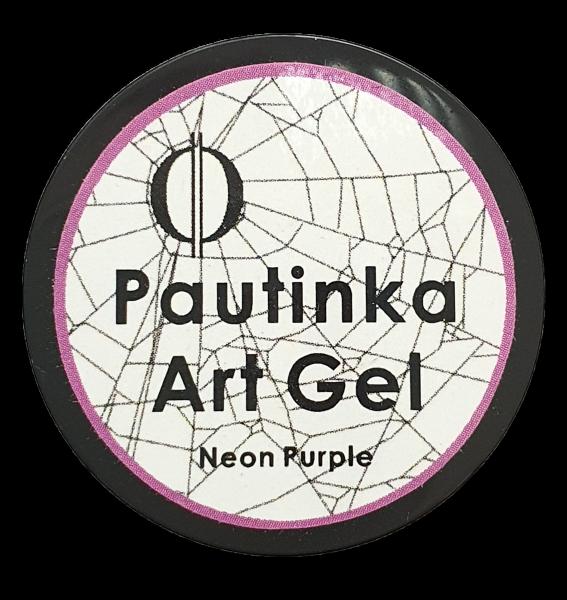 Pautinka Art Gel - neon purple